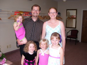 Pastor Phil and his family