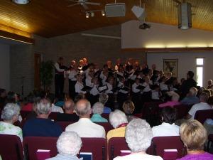 A Full House - Spirit Singers Concert
