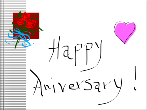 Aug 17 - Our 23rd Wedding Anniversary!
