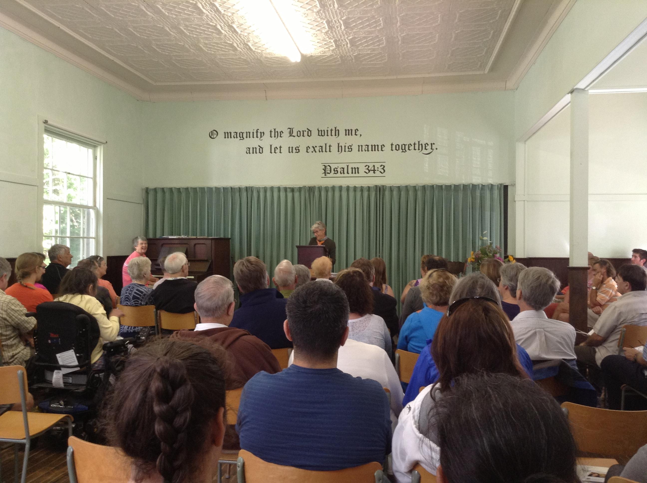 Red Bay Community Church Congregation