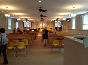 Beautiful Renovations to the Sanctuary!