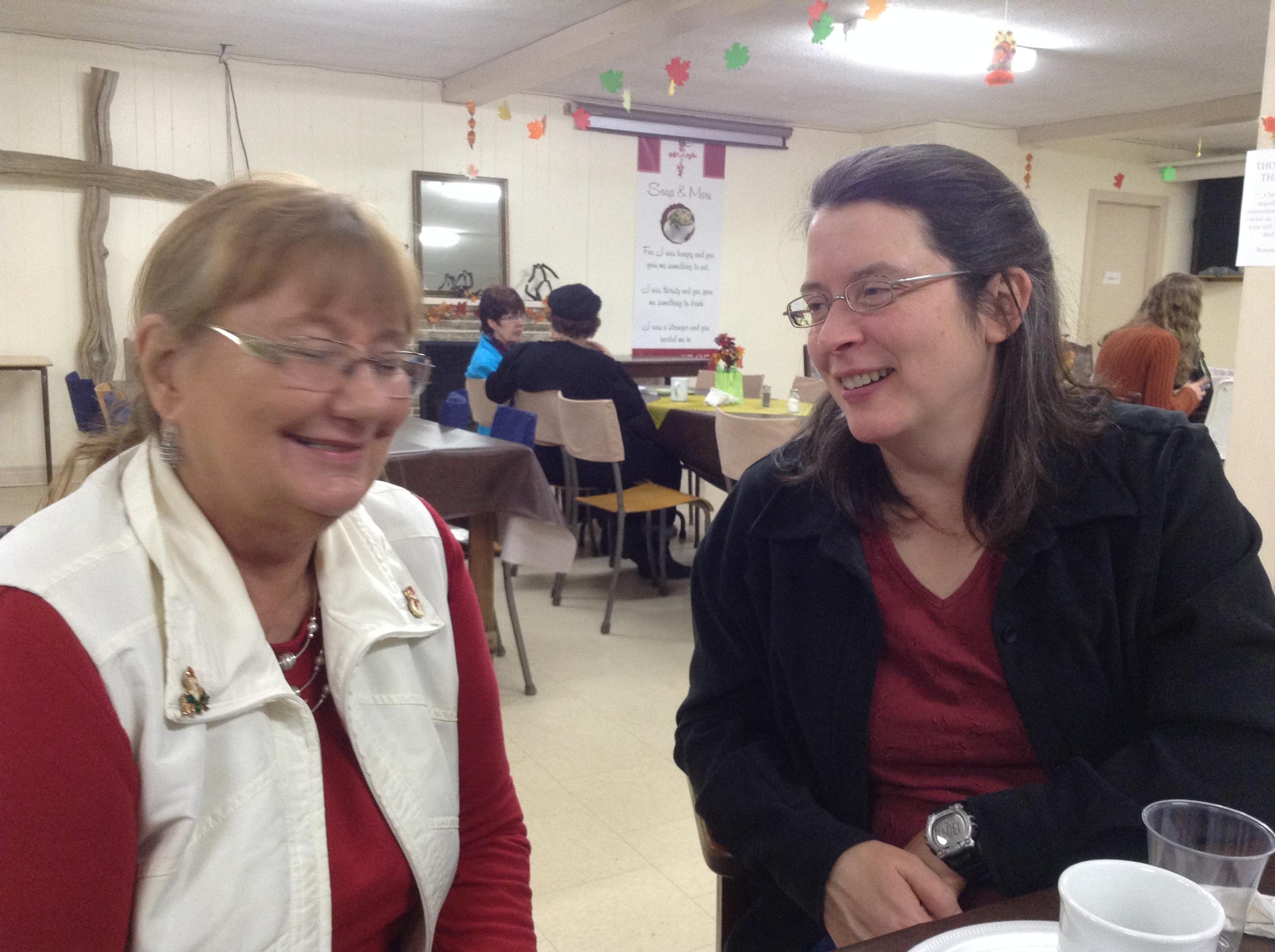 Nancy & Carolyn