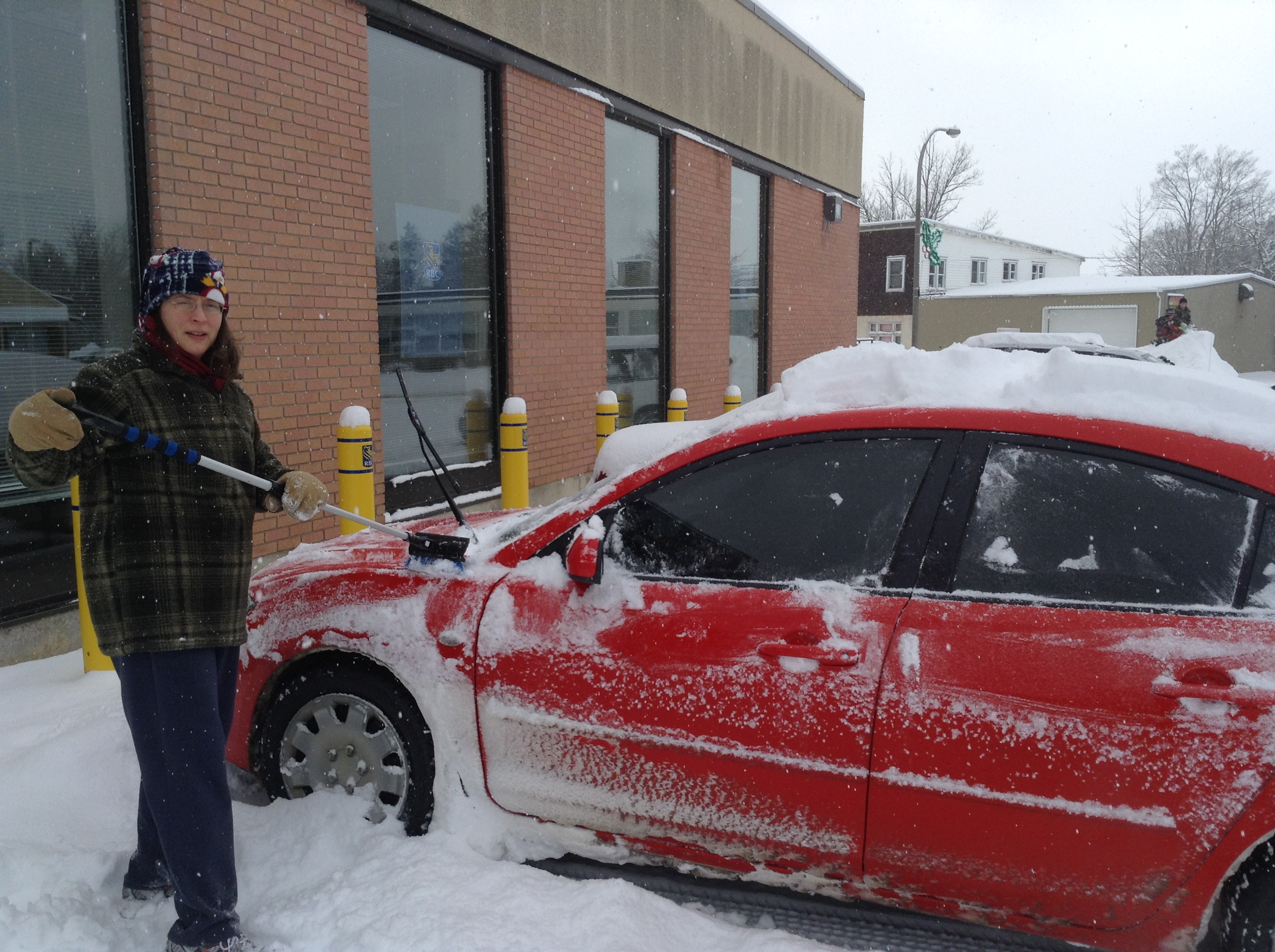 Fun! Clearing the Car!