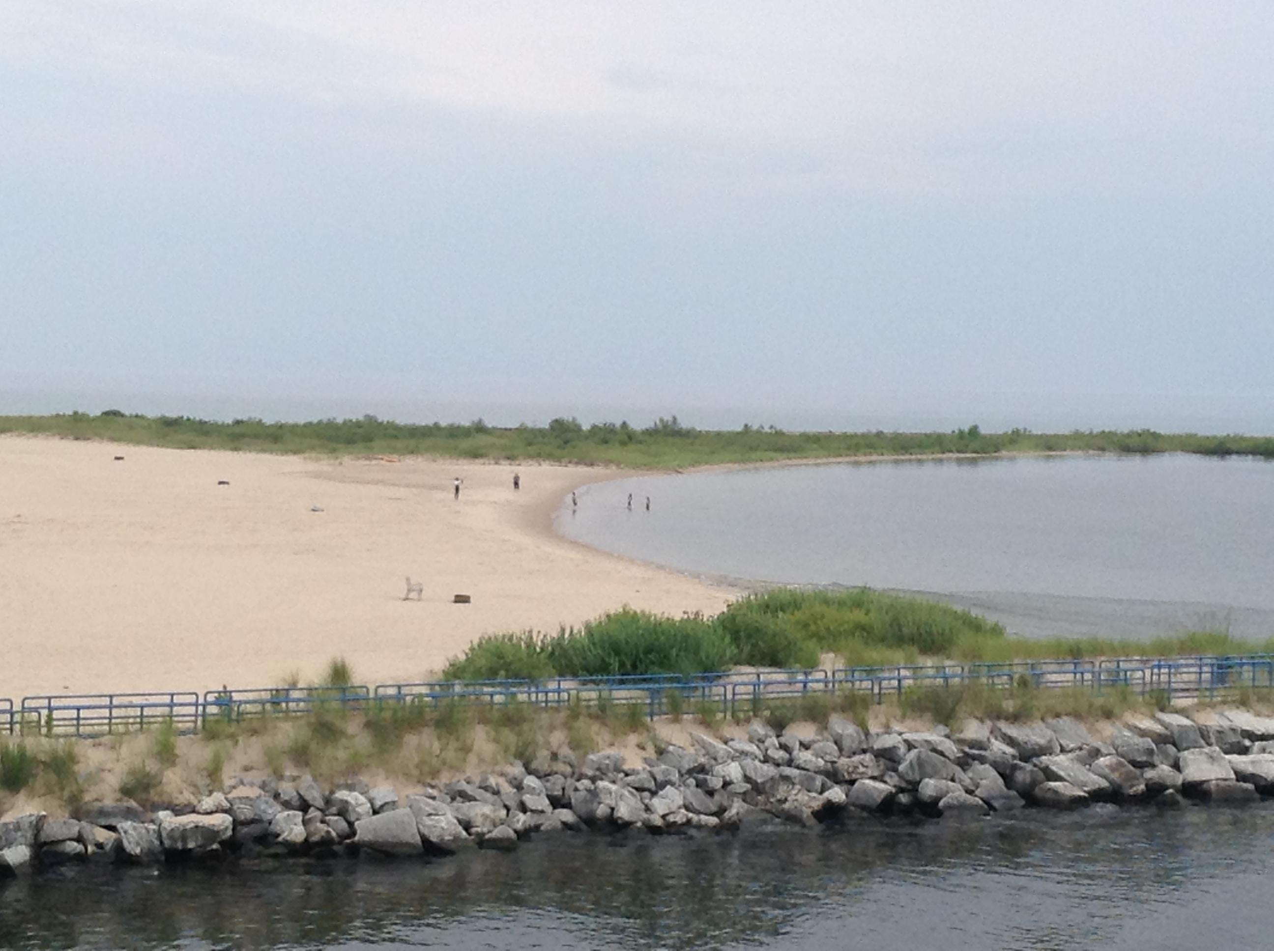 Lake Michigan Beach at Ludington, MI