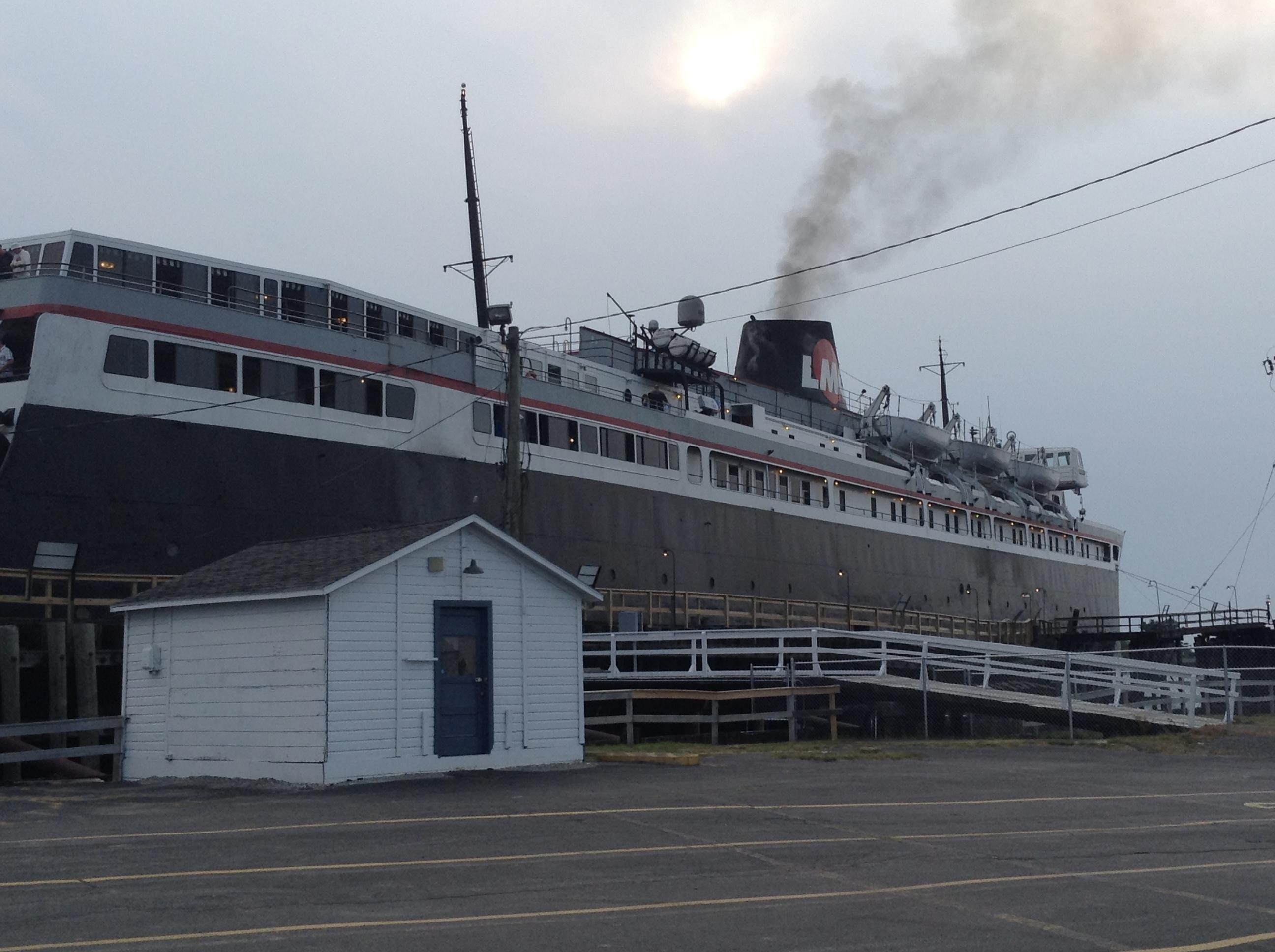 SS Badger Ferry across Lake Michigan