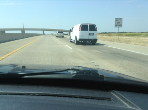 Look at the Muffler on that Van!