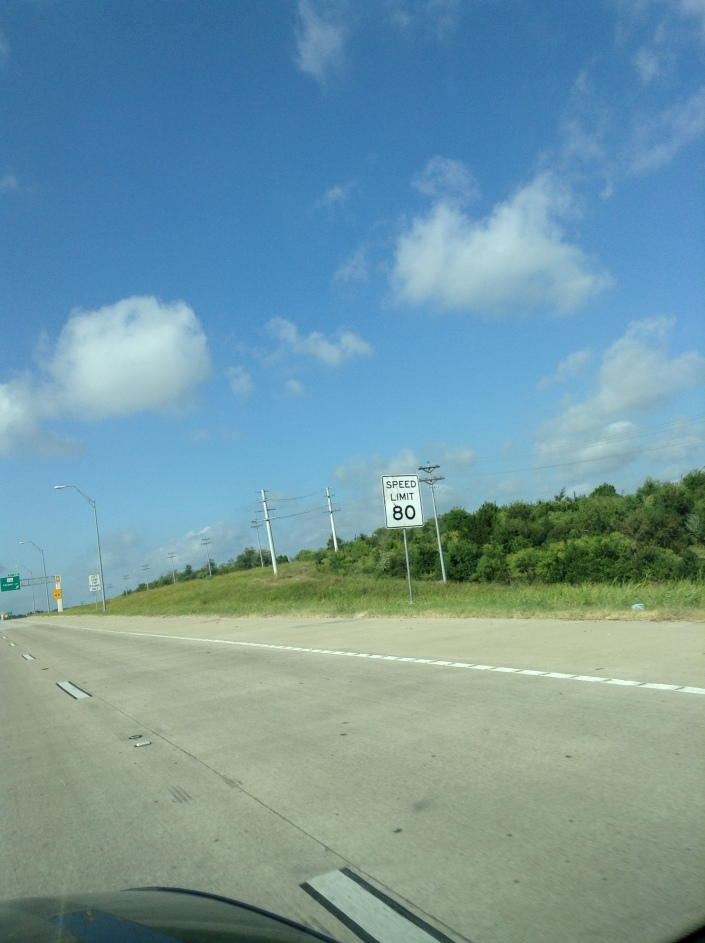 Had to take the Toll Road to not get caught in the major construction and traffic through Austin, TX - This road is fast!