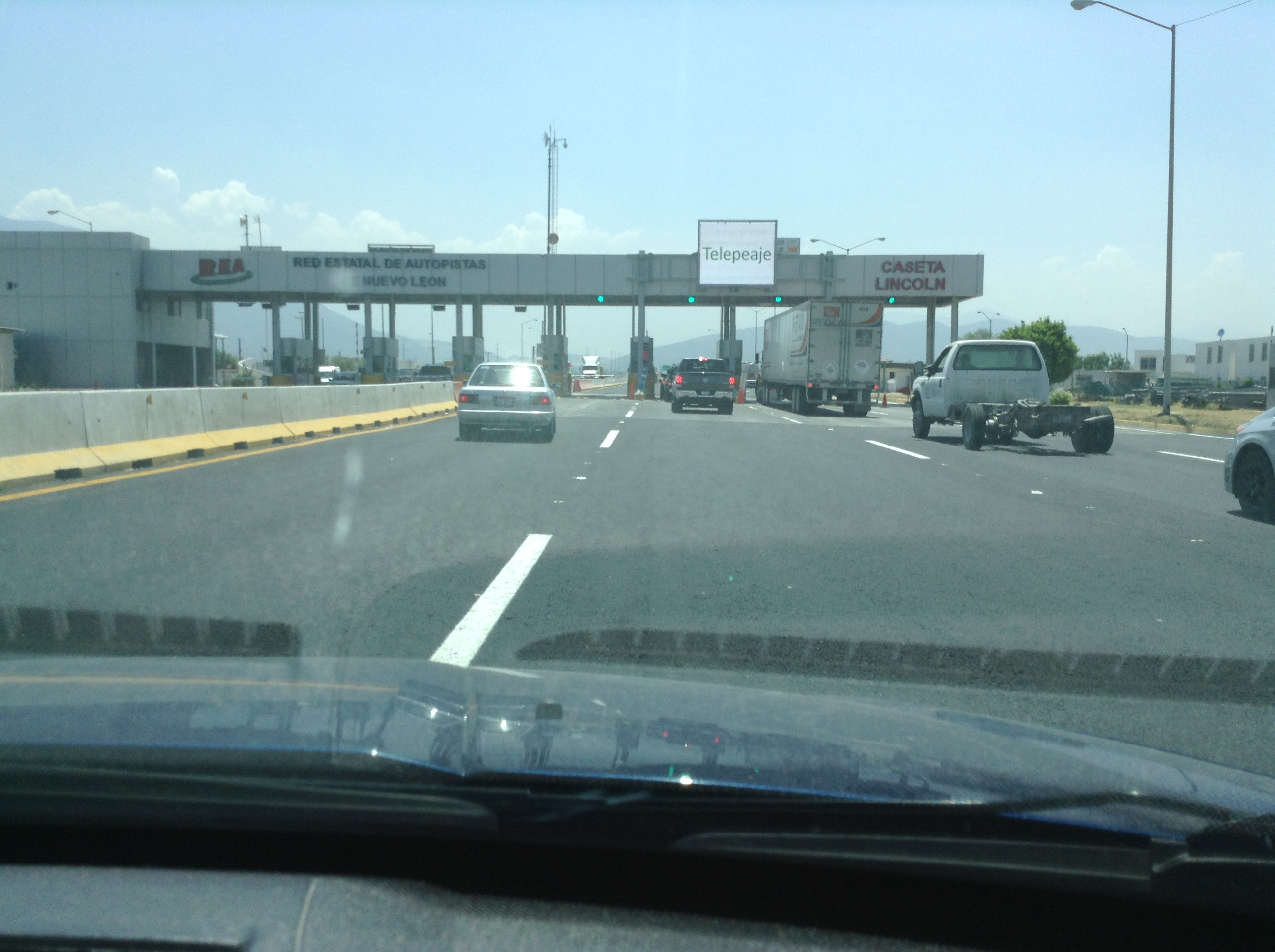 First of our Toll Road Encounters!