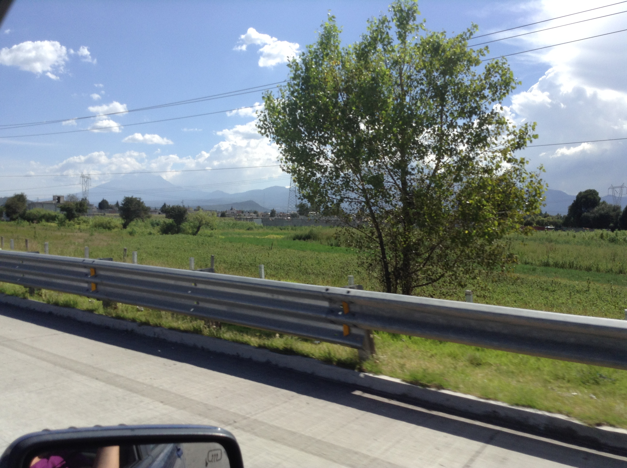 That's Puebla in the distance!