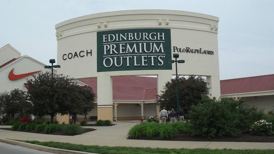 And this Outlet Mall was across the street from where we are staying tonight!  More Stuff to Consume!!
