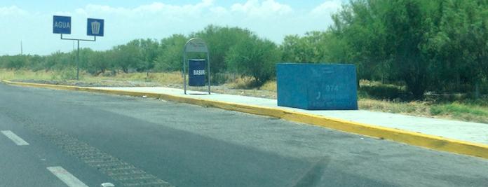 Water & Garbage roadside turnout