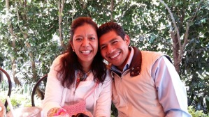 Our Friends Hector and Gaby in Mexico City