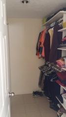 Bed room closet