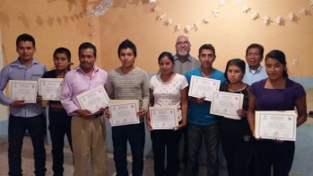 First graduating group for the basic level material