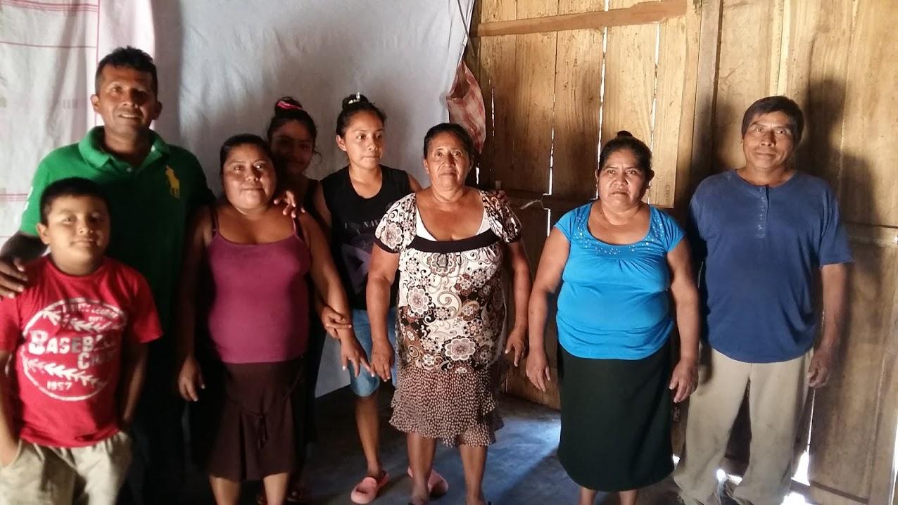 Pastor Juanito's family