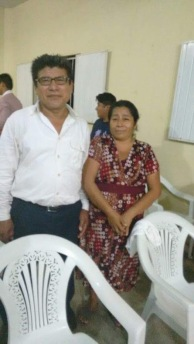 Pastor Andrés and his wife pastor a church near Tres Valles