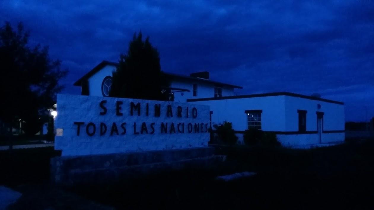 Seminario Todas Las Naciones - this was were the conference was held.