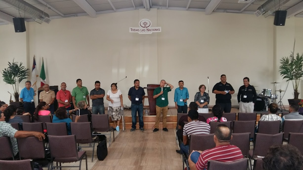 Representatives from churches throughout Mexico.