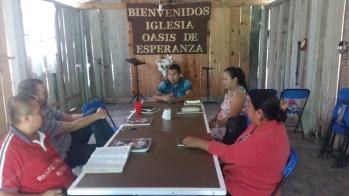 Class in Cuetzalan Saturday morning