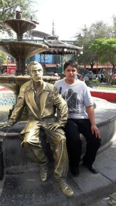 Nezher with Tin Tan
