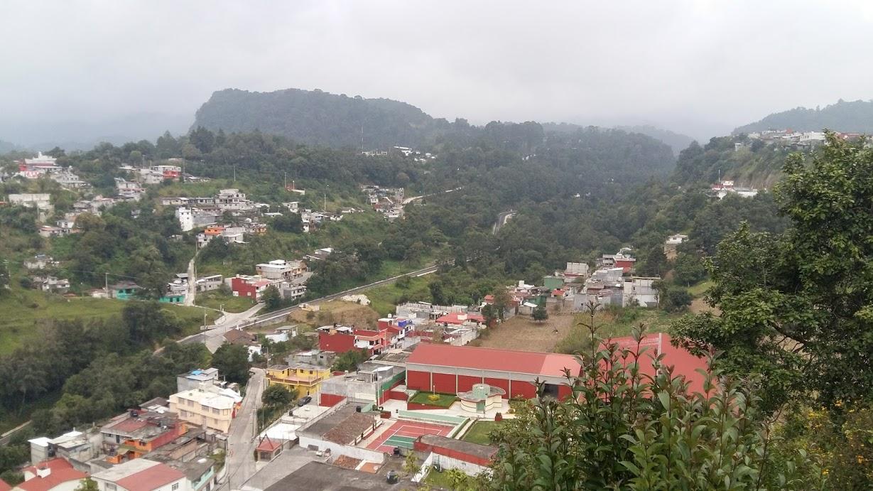 View from Zacapoaxtla
