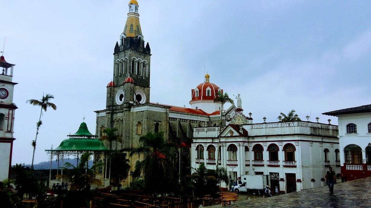 Cuetzalan zócalo - town square.
