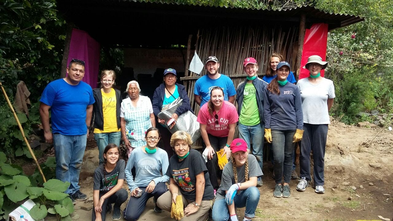 Group who helped rebuild